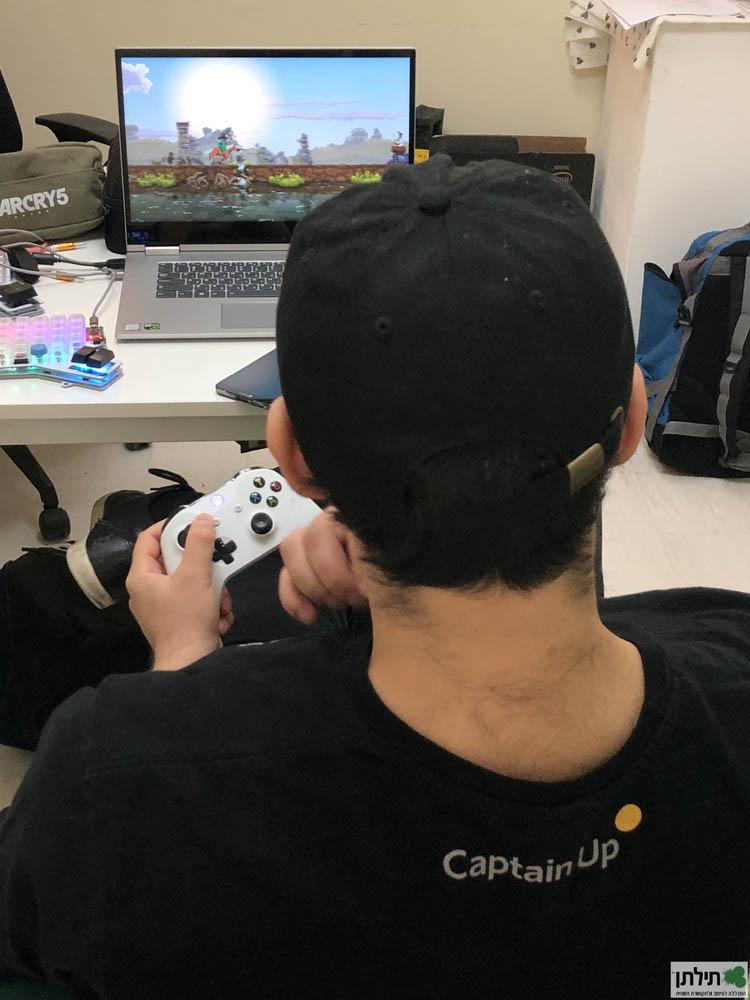 פיתוח משחקי מחשב נגד השעון - האקתון משחקי העיר חיפה ה-17 במסגרת פסטיבל תילתן ה-3 (Festiltan)