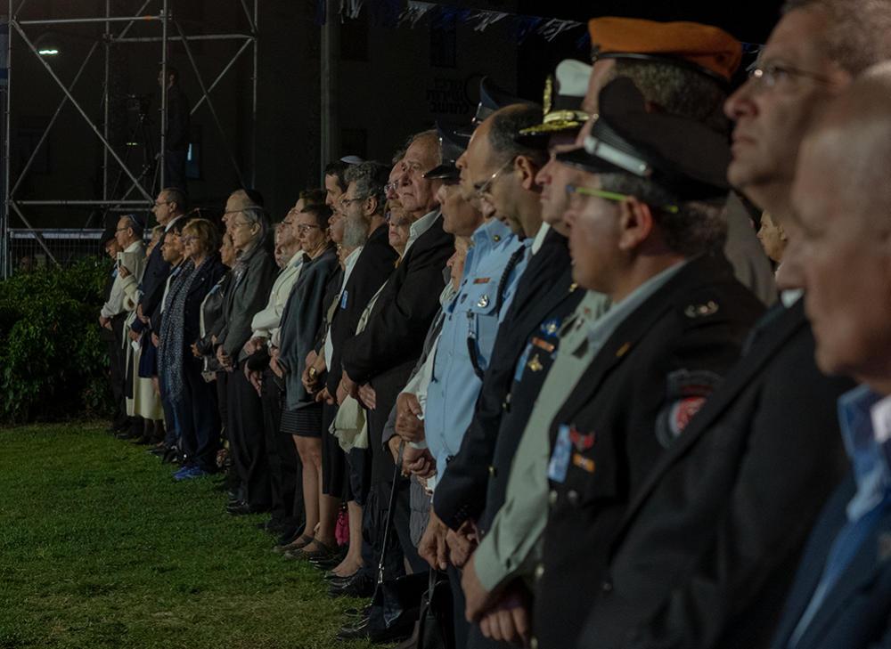 יום הזיכרון בחיפה - גן הזיכרון (צילום: ירון כרמי)