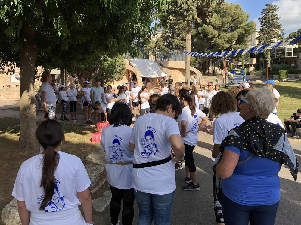 """מירוץ """"רצים לזכרם"""" - יום הזיכרון בחיפה • בחסות ספורטן חיפה (צילום: ירון כרמי)"""