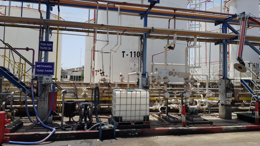 דור כימיקלים (צילום: המשרד להגנת הסביבה)
