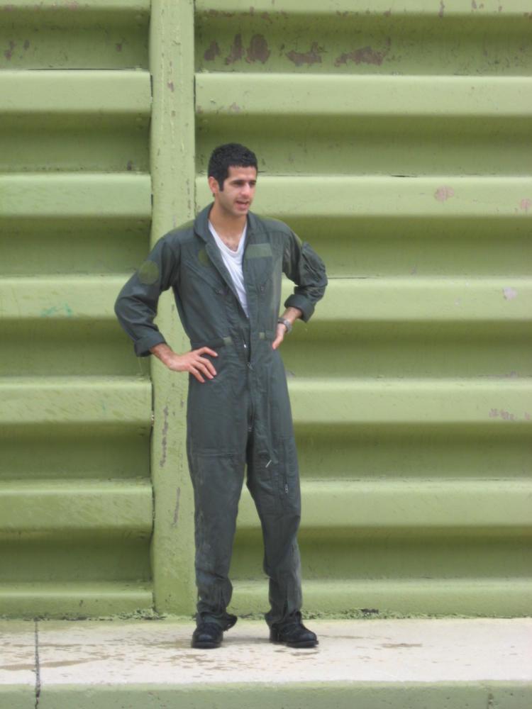 """תומר לוי, שיאן המילואים מקריית מוצקין (צילום: יח""""צ)"""
