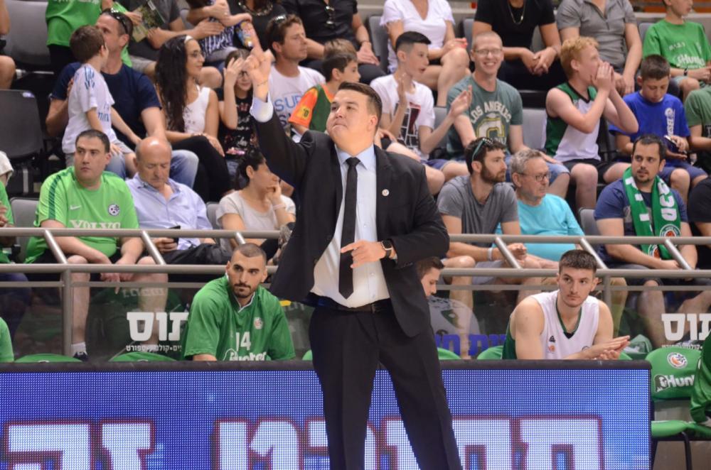 דניאל סאואנה, המאמן הזר הראשון שעולה ליגה וזוכה באליפות הליגה הלאומית (צילום: חגית אברהם)