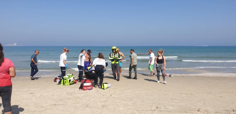 חוף קרית חיים בחיפה הצלה