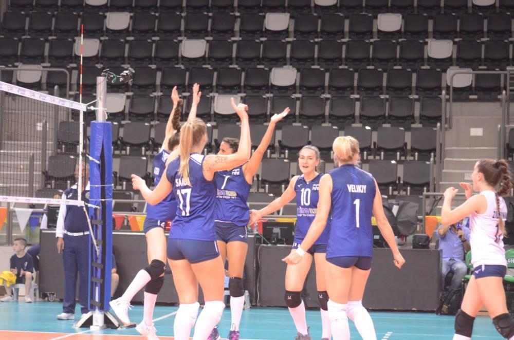 נבחרת ישראל בכדורעף (צילום: חגית אברהם)
