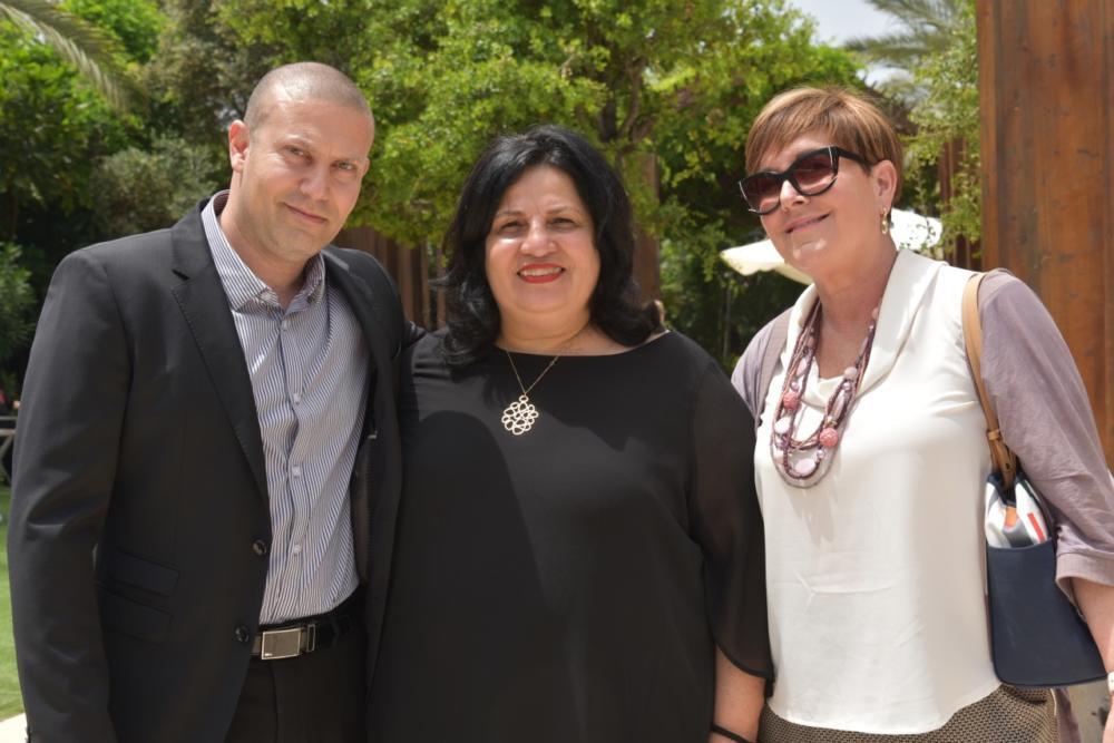 """רונן נודלמן, מנהל מחוז חיפה וג""""מ בכללית - מנהלת הסיעוד במחוז אות ברוך"""