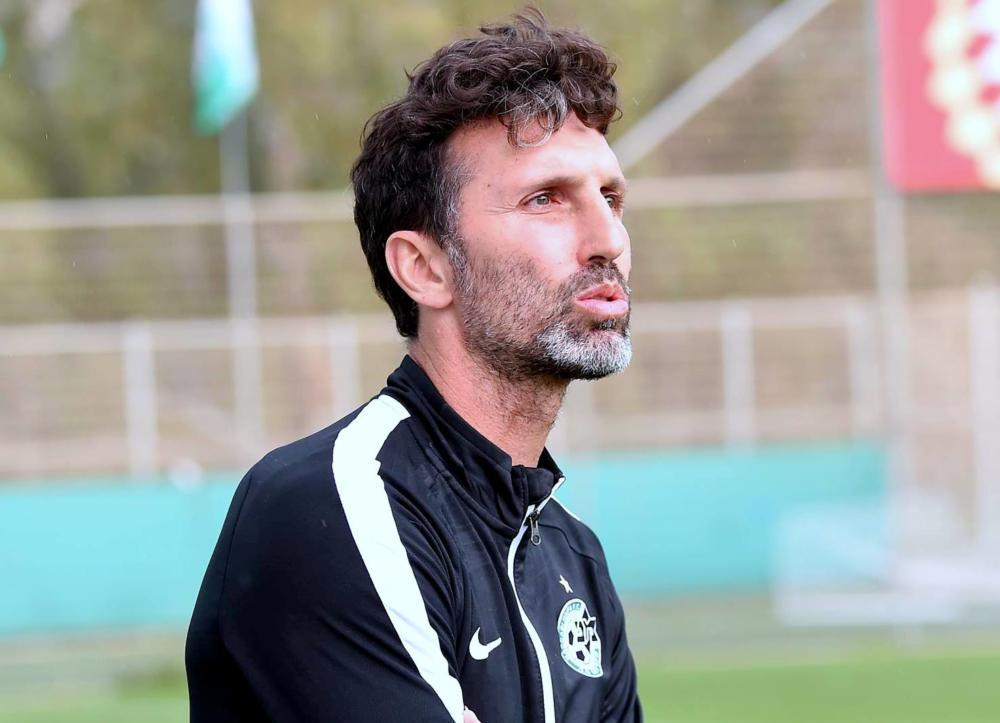 אריק בנאדו, מאמן קבוצת הנוער ושחקן עבר מכבי חיפה (צילום: יוסף הירש)
