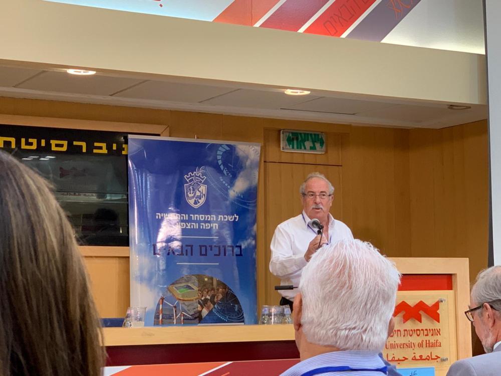דוד קסטל, נשיא לשכת המסחר והתעשייה חיפה והצפון (צילום: נגה כרמי)
