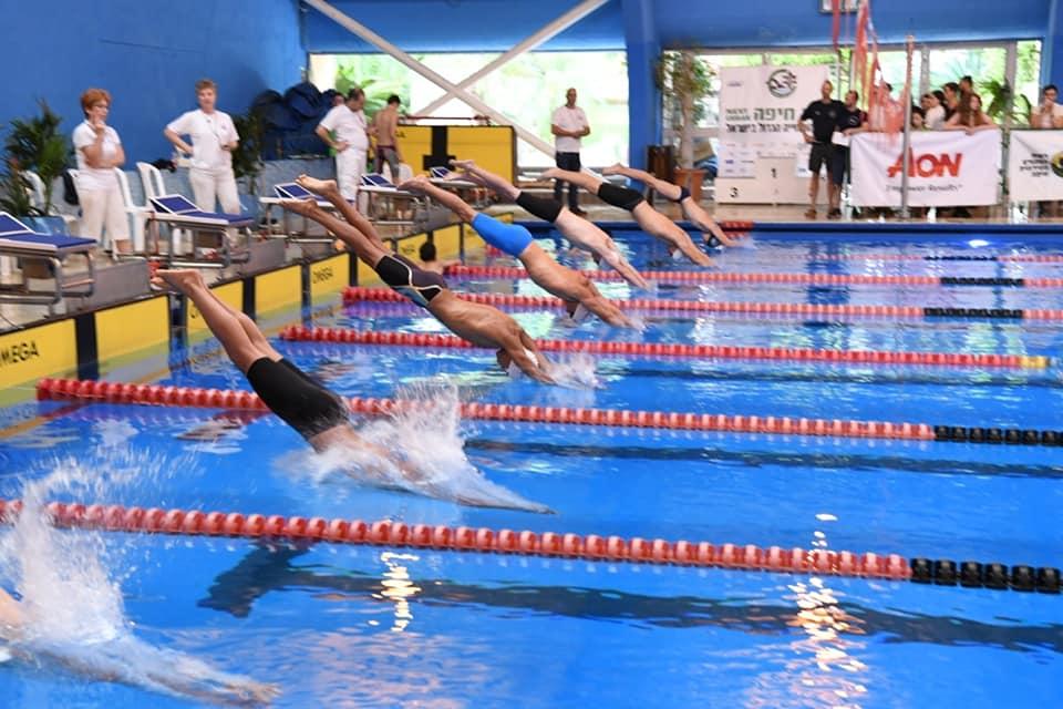 שחיה בחיפה: גביע חיפה 2019 (צילום: ראובן כהן)