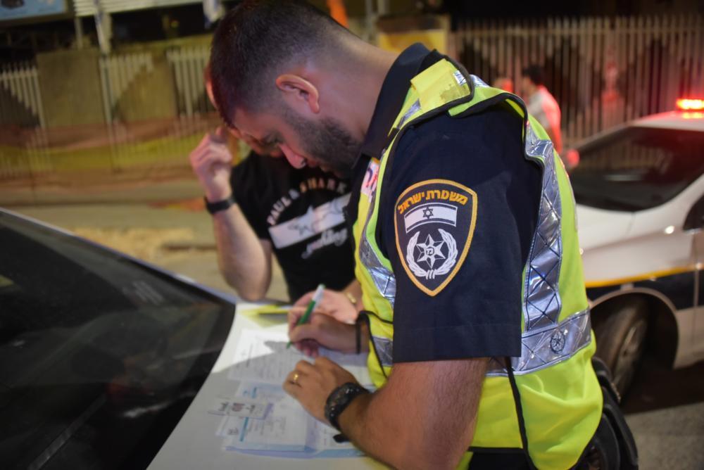 אכיפה (צילום: דוברות המשטרה)
