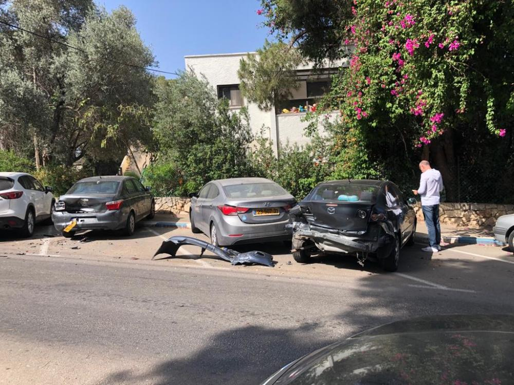 תאונה ברחוב סמולנסקין בחיפהרחוב