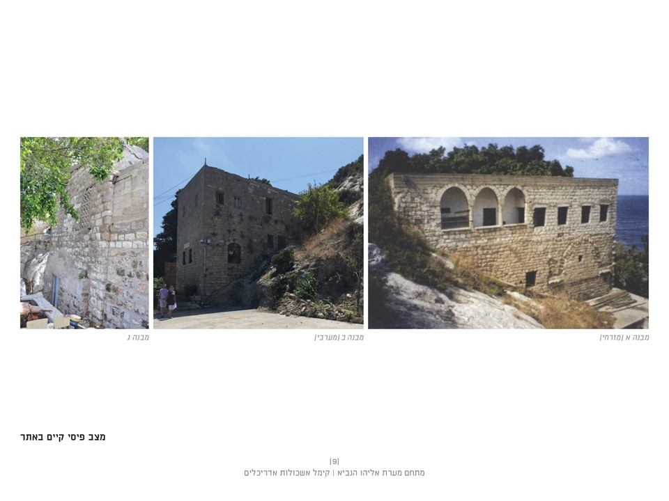 תכנית השיפוץ של מערת אליהו הנביא בחיפה - באדיבות קימל אשכולות אדריכלים - יוני 2019