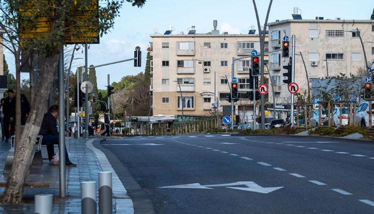 מרכז הכרמל בחיפה (צילום: ירון כרמי)