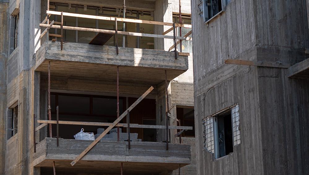 עיבוי בינוי התחדשות עירונית בחיפה (צילום: ירון כרמי)
