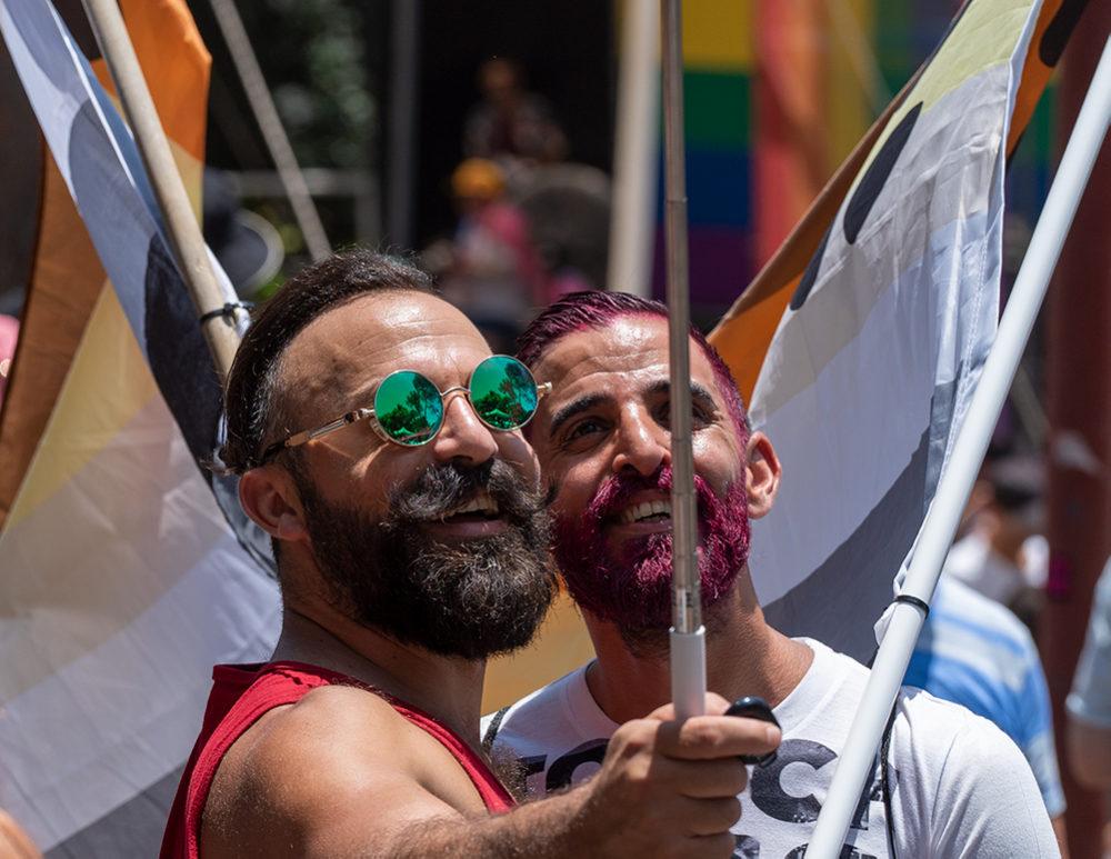 מצעד הגאווה בחיפה (צילום: ירון כרמי)