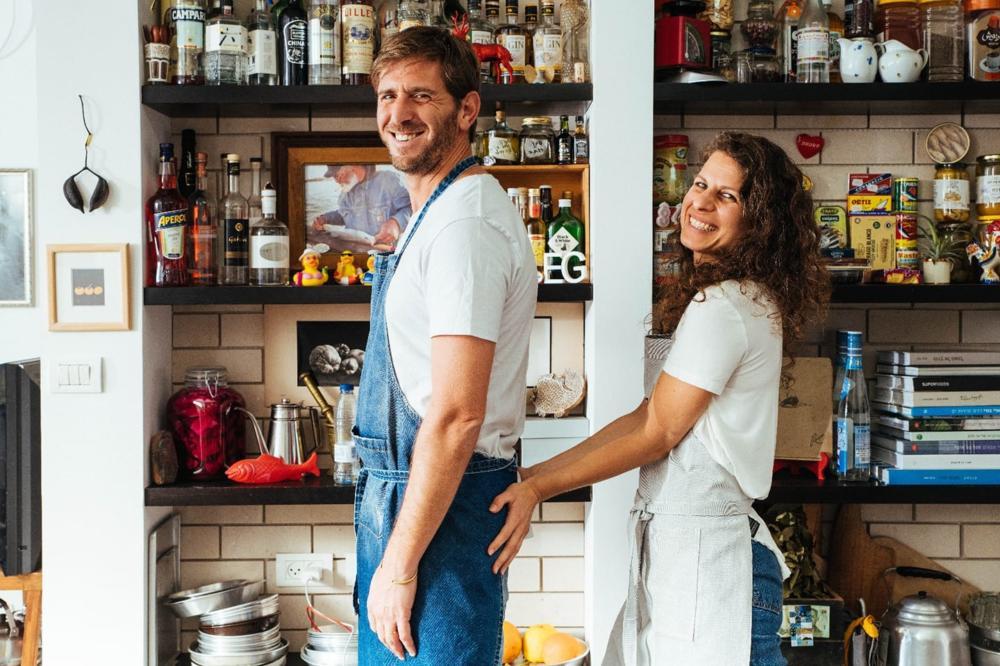 ארז גולקו ואישתו נטלי (צילום: נעם פריסמן)