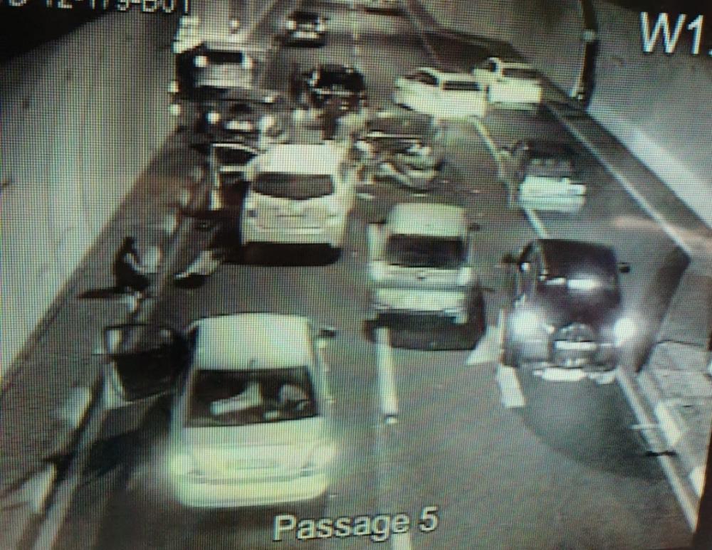 תאונה במנהרות הכרמל בחיפה