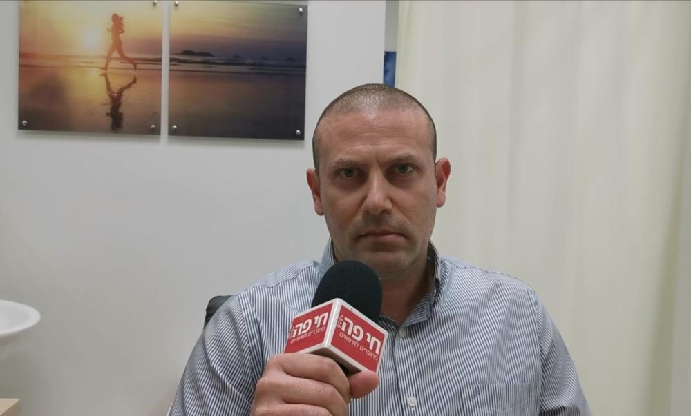 רונן נודלמן מנהל כללית במחוז חיפה וגליל מערבי (צילום: סמר עודה כרנתינג'י)