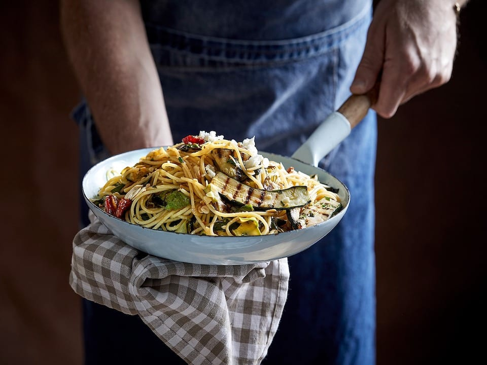השף ארז גולקו, מציג לקוראי חי פה פסטה קישואים לשבועות