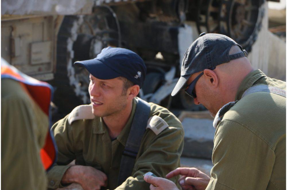 """סרן במיל גיל גלס (צילום: דובר צה""""ל)"""