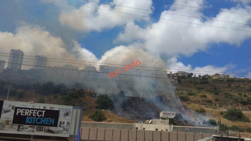 שריפה צילום: מבזקי רעם