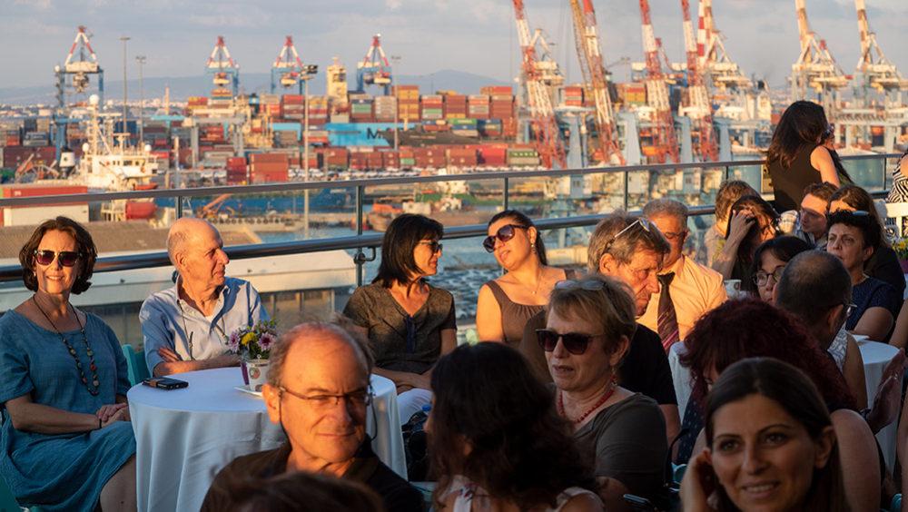 טקס פתיחת קמפוס הנמל בחיפה - האוניברסיטה הפתוחה (צילום: ירון כרמי)