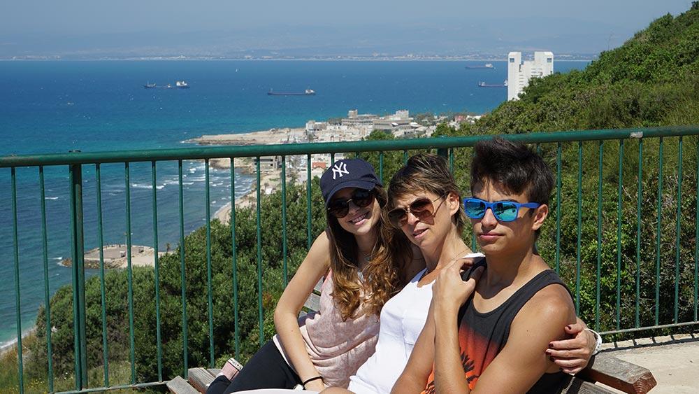 טיול עם ילדים ברכס כוכב הים בחיפה - רכס סטלה מריס (צילום: ירון כרמי)
