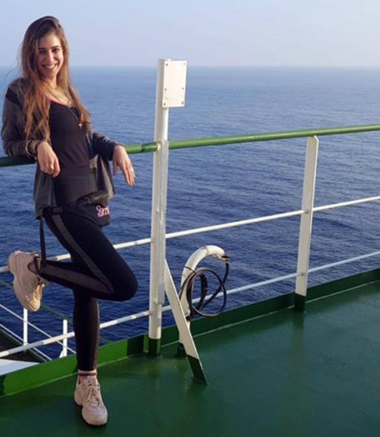 אלינור כהן, התצפיתנית הראשונה בנמל חיפה (צילום: אלבום אישי)