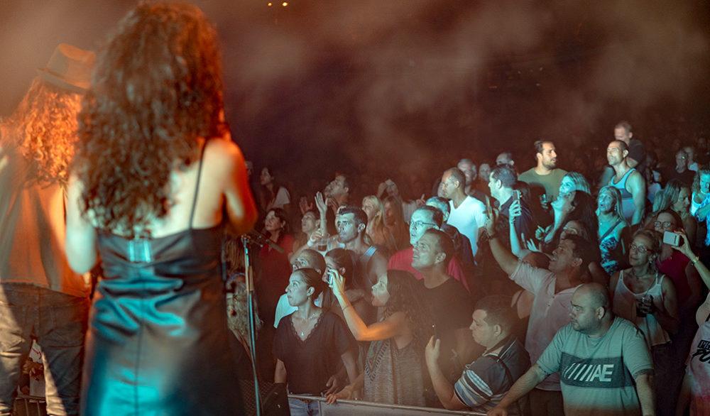 מסיבת ענק בהופעה של אתניקס בספורטן חיפה 6/7/2019 (צילום: ירון כרמי)