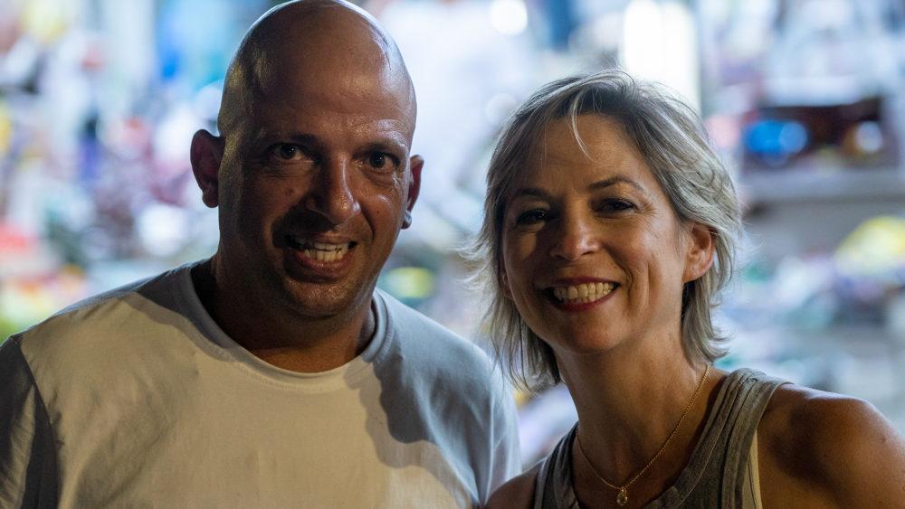 בסטה ביט בימי שלישי בחיפה • הטברנה בשוק תלפיות (צילום: ירון כרמי)