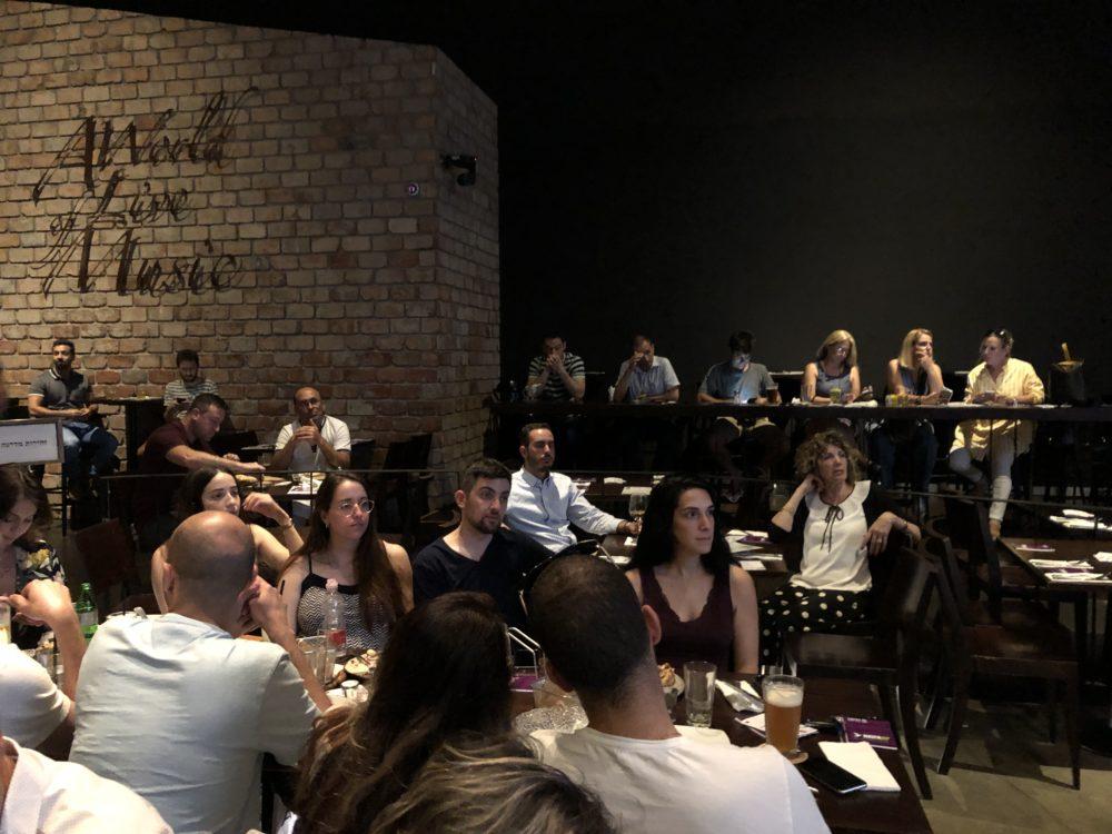 כנס יזמים בחיפה - סטארטאפ וסטנדאפ (צילום: ירון כרמי)