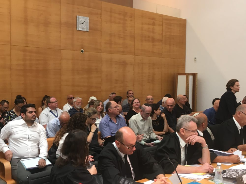עתירת עיריית חיפה נגד תכנית שימושי הנמל החדש (המזרחי) (צילום: אלה נוה)