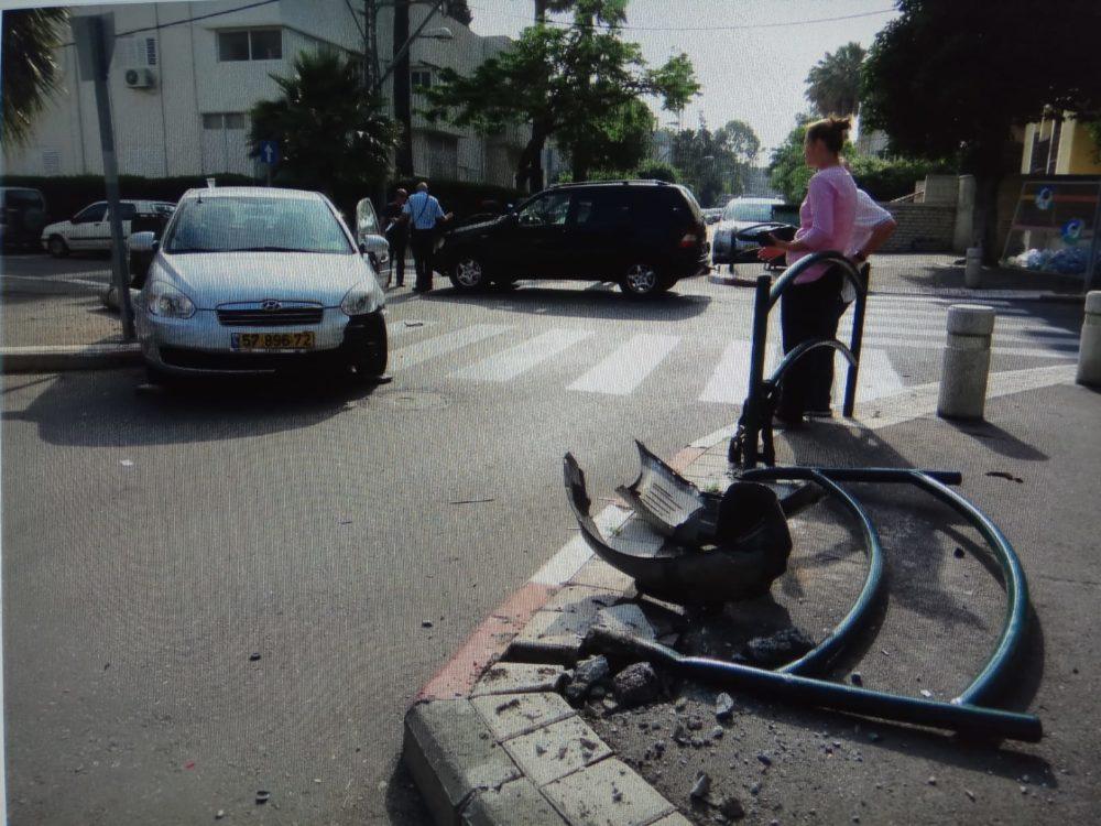 תאונה בצומת נהלל כספי בת גלים