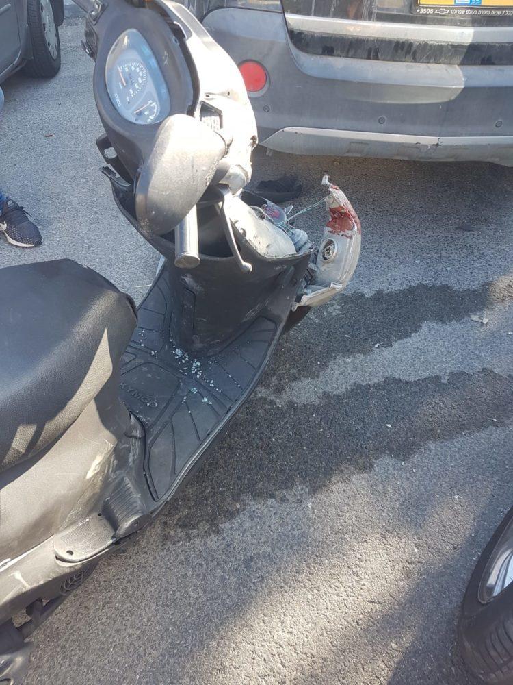 תאונת דרכים (צילום: נעם אזולאי)