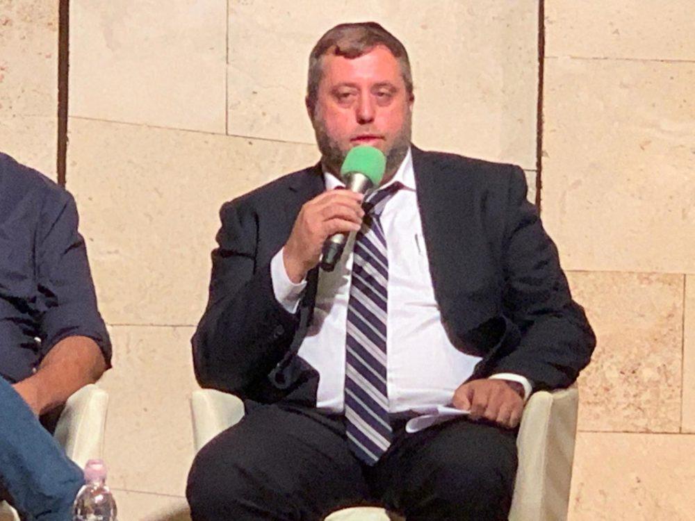 מיכאל אלפר בפאנל בכנס נדלן חיפה