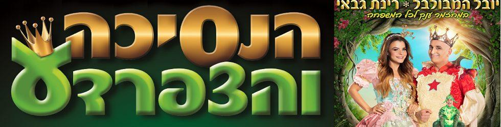 ברק כרטיסים מציג: הנסיכה והצפרדע בתאטרון הצפון ק. חיים, חיפה (צילום:רונן אקרמן)