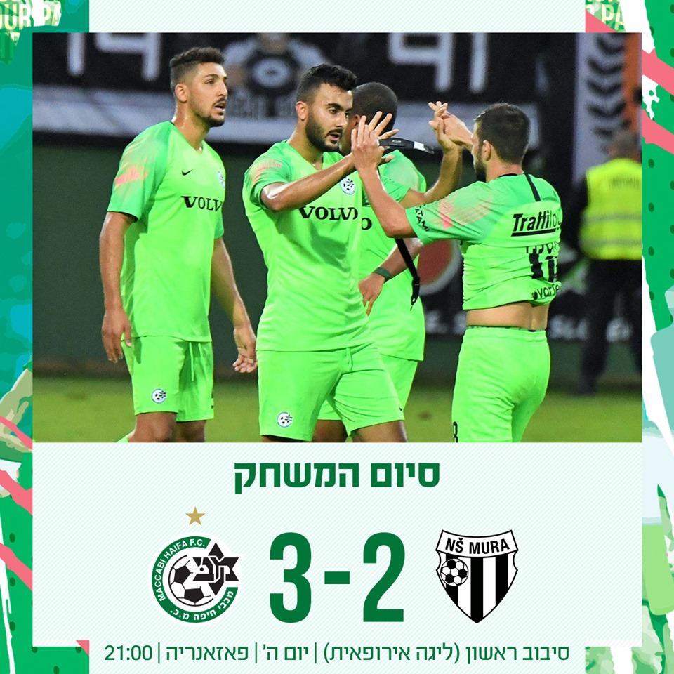 ניצחו קבוצה בינונית (צילום: האתר הרשמי של מכבי חיפה)