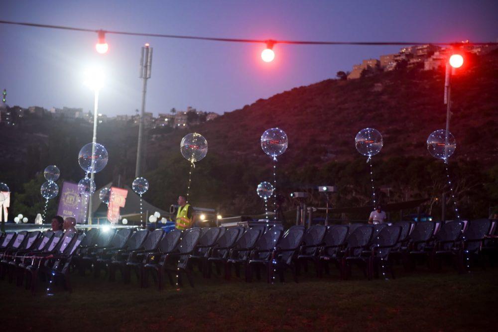 סיום מופע קיץ בספורטן חיפה (צילום: רון פרידמן)
