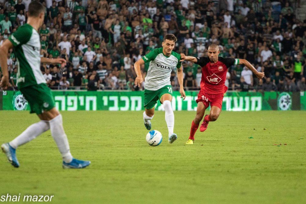 ירדן שועה - מכבי חיפה (צילום: שי מזור)