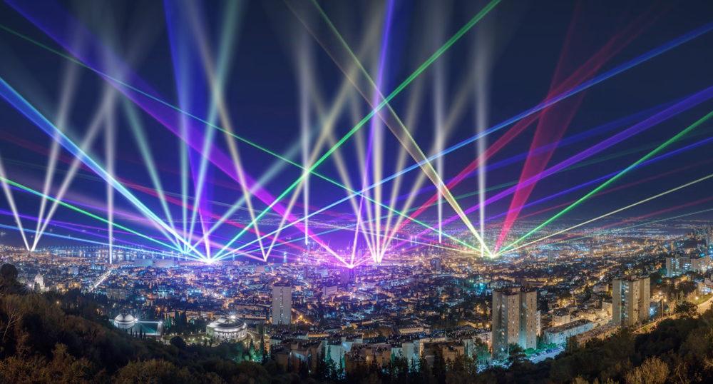 """הדמיה של פרויקט """"אורות הנמל"""" (ההדמיה באדיבות עיריית חיפה)"""
