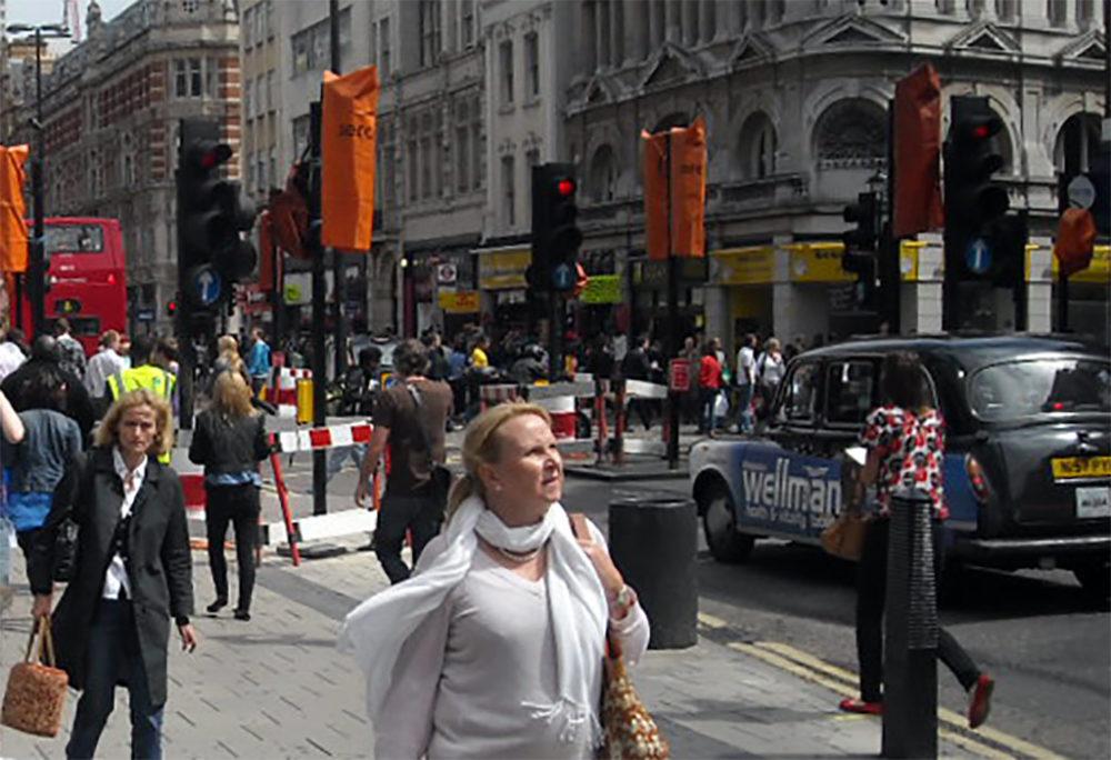 רחוב בלונדון - חוויה משולבת של מזון, שופינג ובילוי (צילום: ירון כרמי)