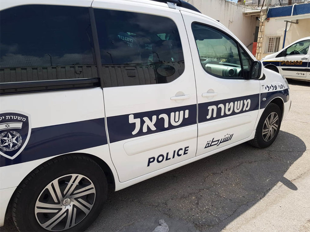 ניידת זיהוי פלילי - משטרה (צילום: משטרת ישראל)
