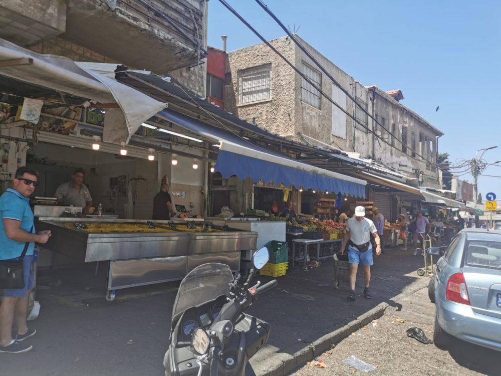 שוק תלפיות (צילום: סמר עודה כרנתינג'י)