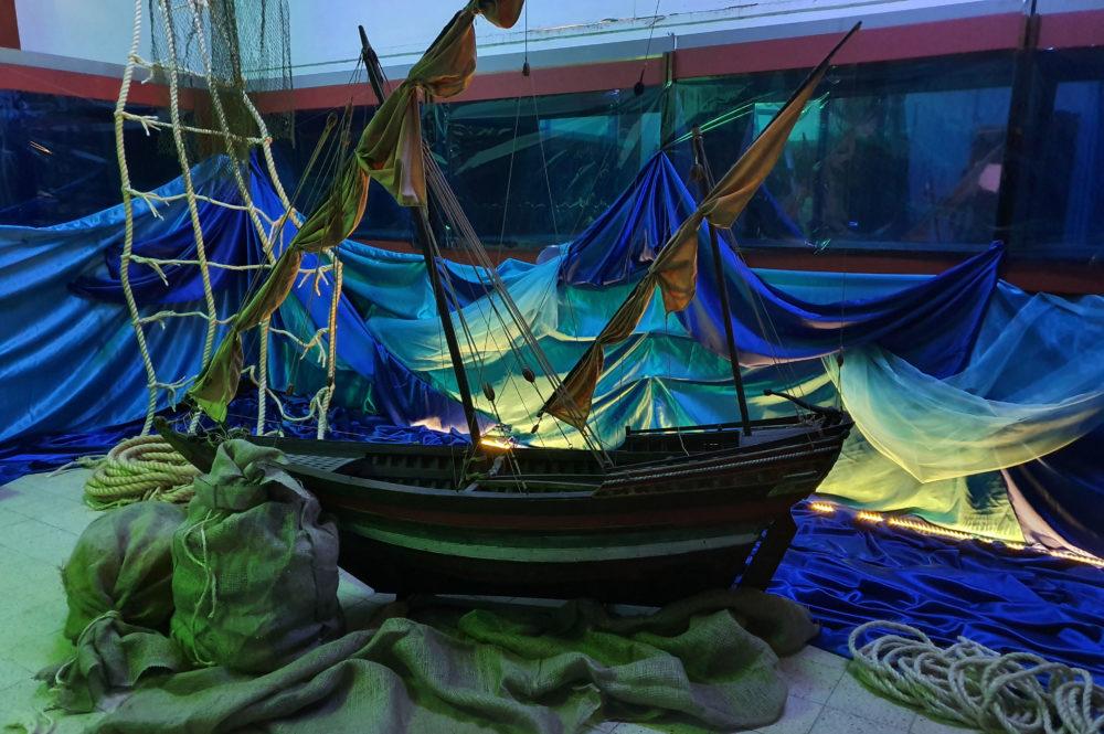 בעקבות הספינה האבודה עמנואל - חדר בריחה במוזיאון הימי הלאומי חיפה