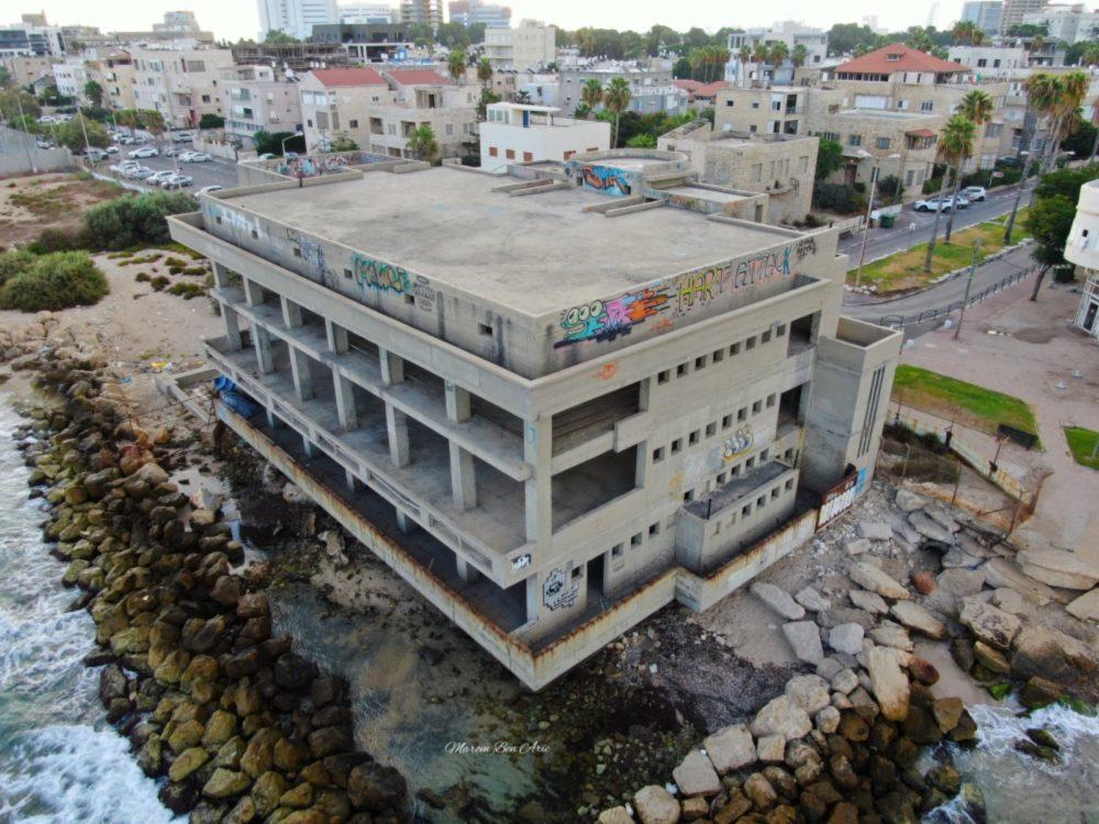 הקזינו בטיילת בת גלים חיפה  (צילום: מרום בן אריה - צילומי אוויר 054-869-4777)