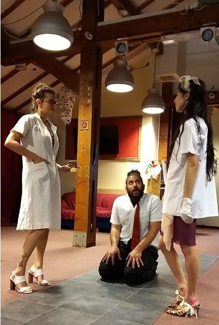 מופע תלמידי שנה ג' של תיאטרון הסטודיו חיפה (צילום: הסטודיו)