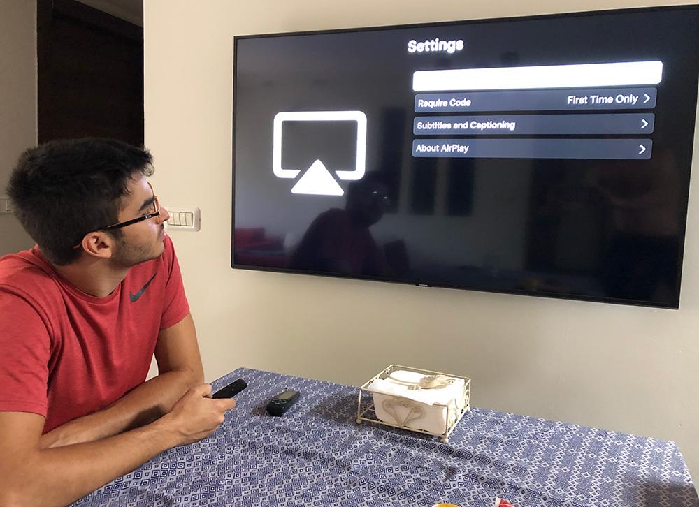 קונפיגורציה לטלויזיה חכמה - התקנה והדרכה בביתך - הסביבה הטכנולוגית - מתן כרמי