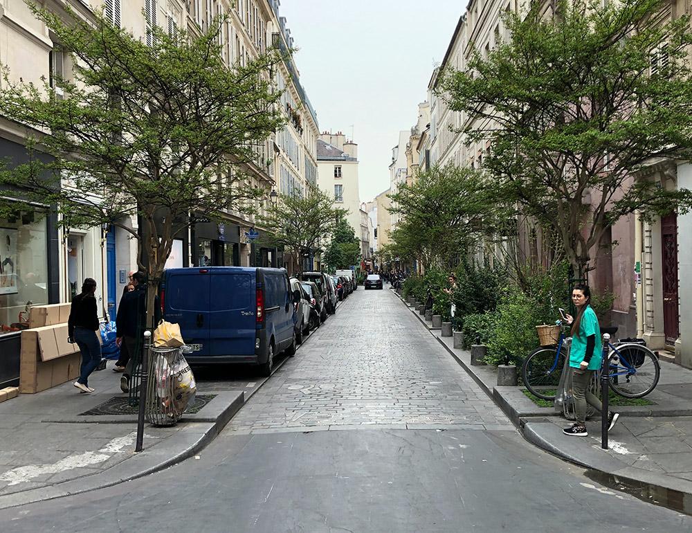 רחוב בפריז (צילום: ירון כרמי)