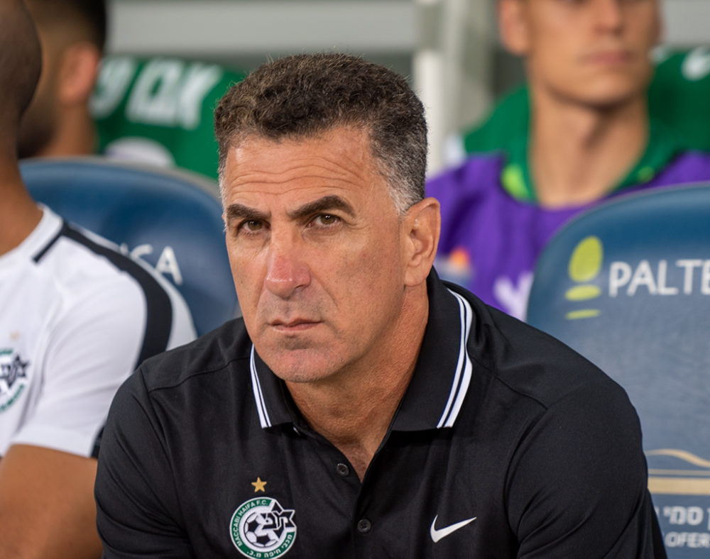 מרקו בלבול - מאמן מכבי חיפה - כדורגל (צילום: ירון כרמי)