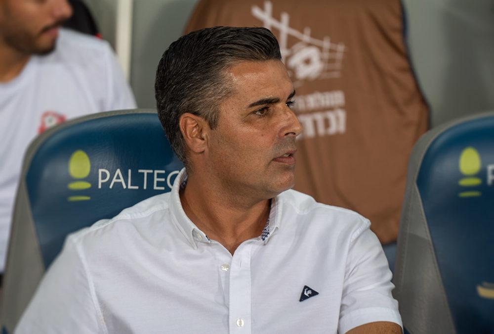 חיים סילבס - מאמן הפועל חיפה - כדורגל (צילום: ירון כרמי)
