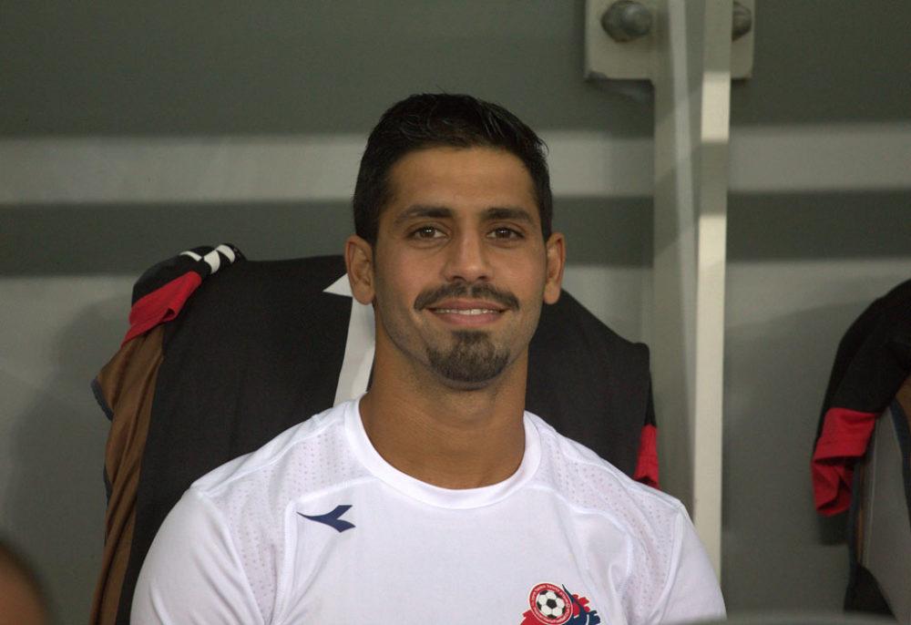 שחקן הפועל חיפה בכדורגל (צילום: שי מזור)
